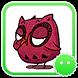 Stickey Cute Owl by Awesapp Limited