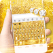 Luxury Gold Keyboard Theme by Fashion theme for Android-2018 keyboard