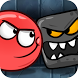 Ball Bounce and Rotate - Red Bounce Ball Adventure by kullstore games