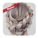 Easy hairstyles with braids by Eyes makeup and hairstyles apps