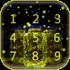 Fireflies Lock Screen Keypad by Heather Art