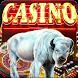 Wild Buffalo Slot Machine : Royal Slots Casino by Nic and Chloe Studio