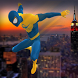 Flying Spider Hero vs Incredible Monster: City Kid by Alpha Games Studios: 3D Action Simulation
