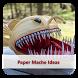 Paper Mache Ideas by JohnConnor