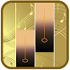 Gold Glitter Piano Tiles 2018 by Pinkinada90