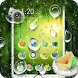 Rainy Water Drops Theme by Cool Theme Love