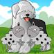 Sheepdog Trial by Graham Jolley