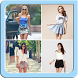 Mini Skirt Outfit Ideas by SarimanApps