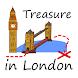 London Treasure Hunt Map by Adam Grodzki