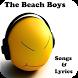 The Beach Boys Songs&Lyrics by andoappsLTD