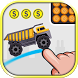 Brain It On - The Wood Trucks by Brain It On - Physics Puzzles