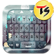 Raindrop Skin for TS Keyboard by TIME SPACE SYSTEM Co., Ltd.