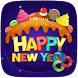 Sweet New Year Launcher Theme by ZT.art