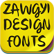 Zawgyi Design Font by fontforever