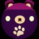 Teddy Roll Bear Drop by Appy Owl, LLC