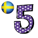 Swedish number memory game by french4you