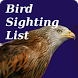 Bird Sighting List by Red Kite Web