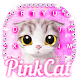 Pink Cat Keyboard Theme