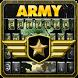 Glory Army Camo Emoji Keyboard by Fidget Spinner League
