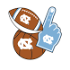 UNC-Chapel Hill Tarheels Selfie Stickers by 2Thumbz, Inc