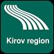 Kirov region Map offline by iniCall.com