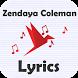 Zendaya Coleman Lyrics by Paper Bird Lyrics