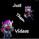 Just Them Videos App by Lukeeys Apps