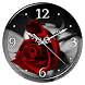 Red Rose Clock Live Wallpaper by Lo Siento