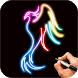 Learn To Draw Glow Tattoo by Magic Touch Apps