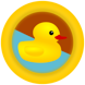 Floating Toy Duck by Foolox