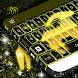 Neon Capricorn Keyboard by T-Me Design Studio
