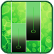 Green Glitter Piano Tiles 2018 by Pinkinada90