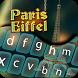 Paris Eiffel Keyboard by Super Keyboard Theme