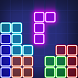 Puzzle game : Glow block puzzle by DzT. Match 3