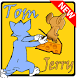 Tom Cat and Jerry Mouse by AAdroidStudio