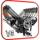 V8 Engine 3D Live Wallpaper by Wallpapers Studio Pro