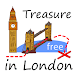 London Treasure Hunt Map Free by Adam Grodzki