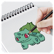 how to draw pokemon by Fixi Mobile