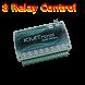 PLC 8 relay remote control net by Vincenzo Scozzaro