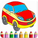 Cars game Coloring by Dinogames