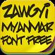 Zawgyi Myanmar Fonts Free by fontforever