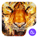 Flame Cool Tiger- APUS Launcher Free Theme