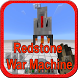 Add-on Redstone War Machine MCPE by Creamsoftdev