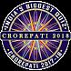 KBC 2017 in English Crorepati Game Endless GK Quiz by India's Biggest Crorepati Quiz KBC 2017 - 18