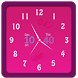 Pink Watch Widget by Best Christmas Apps