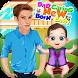Dad Caring Newborn Baby Games by Ozone Development