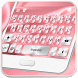 Pink Silk Keyboard Theme by Fashion theme for Android-2018 keyboard