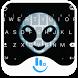 Dark Alien Keyboard Theme by Sexy Apple