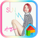 JYP Sunmi Dodol luncher theme by iConnect