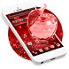 Crystal Apple Theme by stylish android themes